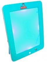 Galinha Pintadinha Tablet Fun 3D Azul - Dican - Galinha Pintadinha