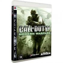 Game Call of Duty 4: Modern Warfare - PS3 - Activision