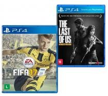 Game FIFA 17 - PS4 + Game The Last Of Us Remasterizado - PS4 - Sony