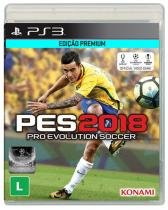 Game Pro Evolution Soccer 2018 - PES 2018 - PS3 - Sony