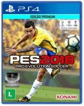 Game Pro Evolution Soccer 2018 - PES 2018 - PS4 - Sony