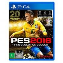 Game Ps4 Pro Evolution Soccer - Pes 2016 - SONY