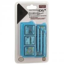Gametraveler Essentials Azul - Kit C/ 3 Canetas + 3 Estojos - Nintendo DS -