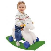 Gangorra/Andador Infantil Playground - Meu Primeiro Poney Colorido Xalingo