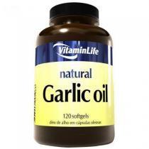 Garlic Oil 250mg - Alicina 120 cápsulas - VitaminLife -