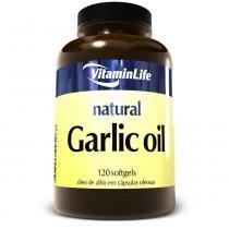 Garlic Oil- Óleo de Alho (250mg) 120 Softgels - 120 Softgels - Vitaminlife