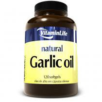 Garlic Oil- Óleo de Alho (250mg) 120 Softgels - Vitaminlife -