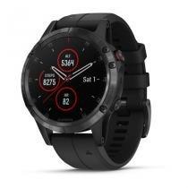 Garmin fenix 5 plus - preto - tela de safira - smartwatch gps premium multiesportivo com músicas -