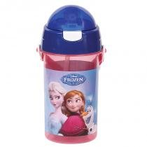 Garrafa de plástico com alça 37127/17 - Frozen - Dermiwil - DERMIWIL INDUSTRIA PLASTICA LTDA