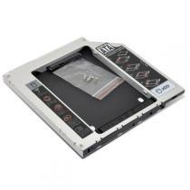 Gaveta Interna 2.5 Slim Sata Second HDD Caddy 12,7mm - Oem