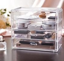 Gaveteiro Porta Maquiagem de Acrilico Organizador 72 - Makesterapia store
