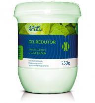 Gel Redutor para o Corpo Mentol, Cânfora e Cafeína 750g - DÁgua Natural - Dagua Natural