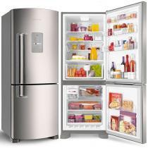 Geladeira Refrigerador Brastemp 422 Litros 2 Portas Frost Free Inverse - BRE50NRBNA - Brastemp