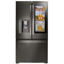 Geladeira/Refrigerador LG Frost Free Side by Side - Cinza 552L GR-X248LKZM.ASBFSBS