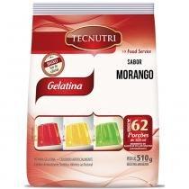 Gelatina Morango 510g - Tecnutri - Diversos
