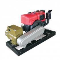 Gerador a Diesel 12.4Kva Com Motor 22HP Partida Elétrica - Toyama