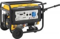Gerador à gasolina 15hp 127/220 volts 4 tempos partida manual e elétrica ggv7100 - Vonder -