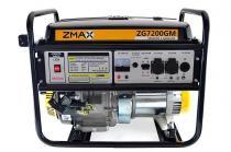 Gerador a Gasolina 4 Tempos ZG7200GM 6.5KVA Mono 127V/220V Partida Manual Zmax - Zmax