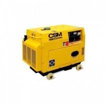 Gerador CSM Diesel GMD5000ES 127/220v - Csm