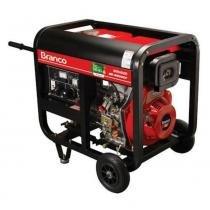 Gerador de energia 5,0 kva à diesel trifásico 220v partida elétrica - BD-6500E3 - Branco -