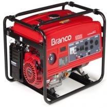 Gerador de energia 5,5 kva à gasolina monofásico partida elétrica - B4T-6500E (110V/220V) - Branco