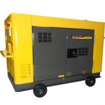 Gerador de Energia a Diesel 11.5 kVA Monofásico Silenciado refrigerado a água 110v/220v - NDE12STA - Nagano