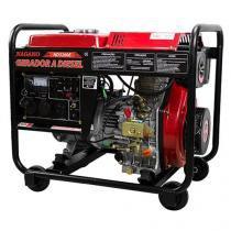 Gerador de Energia a Diesel 3,75 KVA Monofásico Partida Elétrica - ND3200E - Nagano