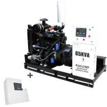 Gerador de Energia a Diesel 65 kVA Trifásico - partida elétrica Aberto c/ QTA Nagano - ND65000E3QTA - Nagano