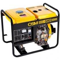 Gerador De Energia A Diesel Csm Gmd-5000E Monofasico 110/220V - Csm