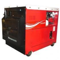 Gerador de Energia a Diesel Monofásico Silenciado cabinado 6.0 kva partida elétrica 110/220v - ND700 - Nagano