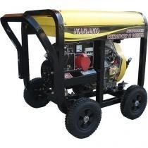 Gerador de Energia a Diesel Trifásico 6 kva partida elétrica 110/220v - ND7000E3 - Nagano