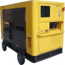 Gerador de Energia a Diesel Trifásico Silenciado 21 kva 110/220v partida elétrica - ND19STA3 - Nagano