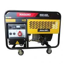Gerador de Energia a Gasolina, Monofásico 110/220v, 10.5 kva, Refrigerado à ar - NGE12EA - Nagano