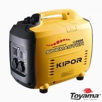 Gerador de Energia á Gasolina Silencioso 2,6 Kva -  110V - TG2600I - Toyama -