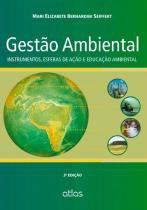 GESTAO AMBIENTAL -  3ª ED - Atlas exatas, humanas, soc (grupo gen)