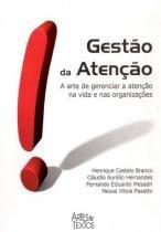 Gestao Da Atencao - Artes E Textos - Aut Paranaense - 952432
