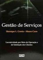Gestao de servicos: lucratividade por meio de oper - Atlas