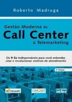 Gestao Moderna de Call Center e Telemarketing - Atlas editora