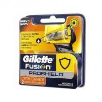 Gillette carga para aparelho fusion proglide c/2 -