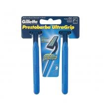 Gillette Ultragrip Lâmina de Barbear Prestobarba - C/2 - Gillette
