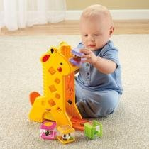 Girafa Peek-a-Blocks - Fisher-Price - Fisher price