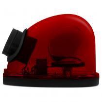 Giroflex Luz De Emergência Vermelho Sinalização Com Sirene - Prime