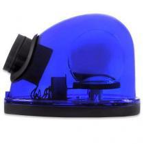 Giroflex Sinalizador Luz Emergência 12V Com Sirene Tech One T1GFCSAZ Azul -