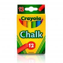 Giz Colorido Sem Poeira P/ Quadro Negro Crayola -