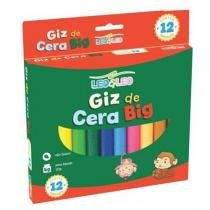 Giz de Cera 12 Cores Big - Leo Leo - Jocar office