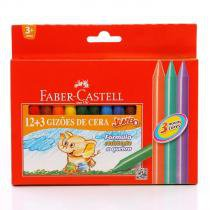 Gizão De Cera 12 Cores Faber Castell  HT141115 -