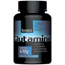 Glutamina 120g - Basic Nutrition
