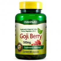 Goji Berry - 60 cápsulas - Maxinutri -