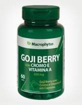 Goji Berry com Cromo e Vitamina A 500mg - 60 Caps - Macrophytus -