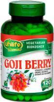 Goji Berry com Vitaminas Unilife 120 capsulas 500mg -